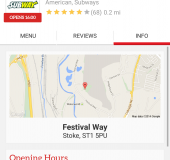 Getting some grub, quick   Just Eat Mobile App Review