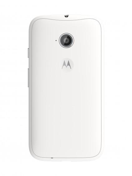 Moto E (2nd Gen.) Back   White