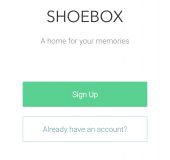 A big cloud storage space we really shouldve mentioned   Shoebox