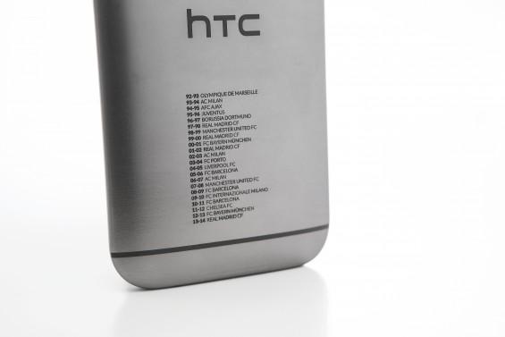 UEFA Champions phone close up