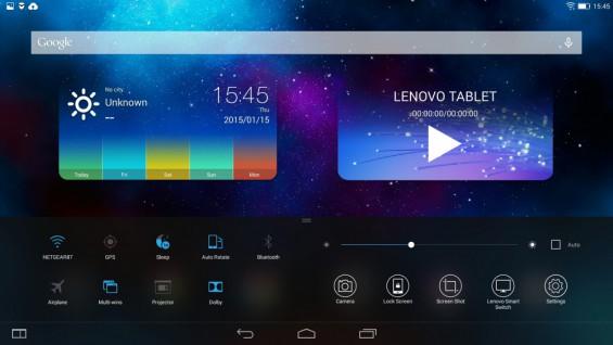 Yoga Tablet 2 Screen Pic2
