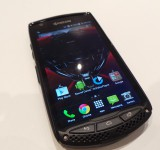 MWC   Kyocera. A talk about the TORQUE (KC S701)