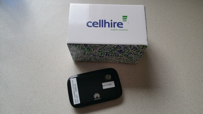 Cellhire MiFi