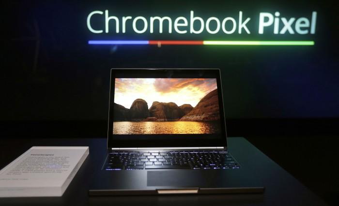 Google Touchscreen Laptop