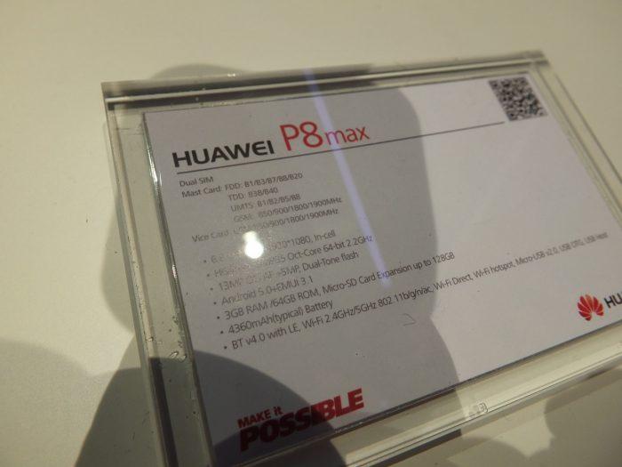 Huawei P8 Max Pic32