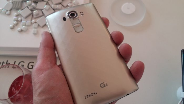 LG G4 Launch Hands On Pic17