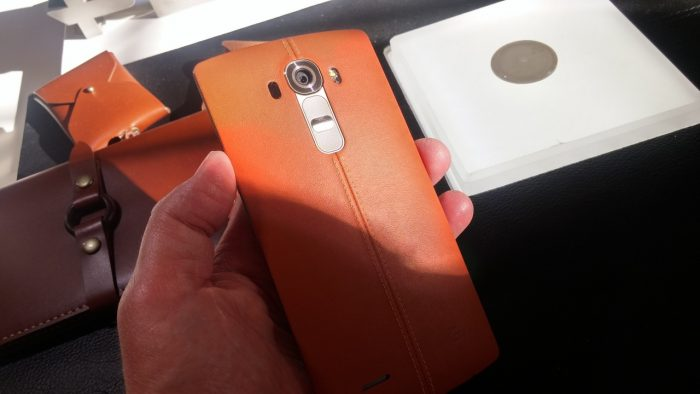 An afternoon with the LG G4