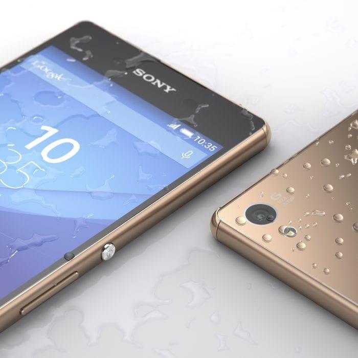 Xperia Z3+ Copper design2