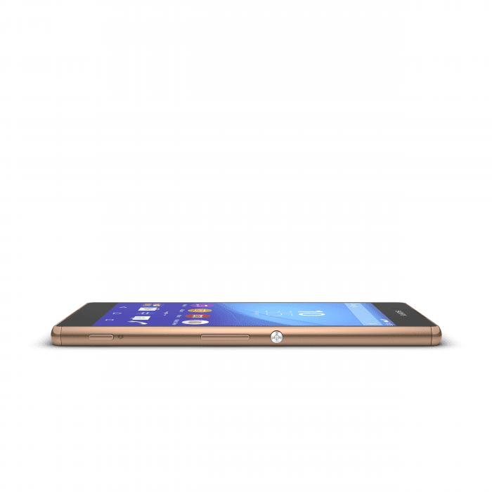 Xperia Z3+ Copper sidehorizontal