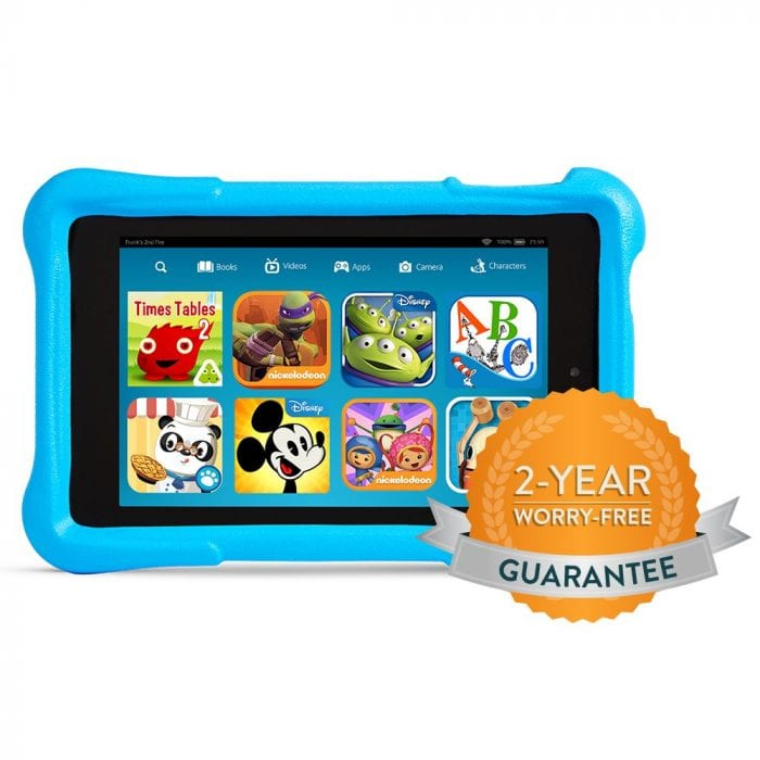 Fire HD Kids Edition Worry Free Blue