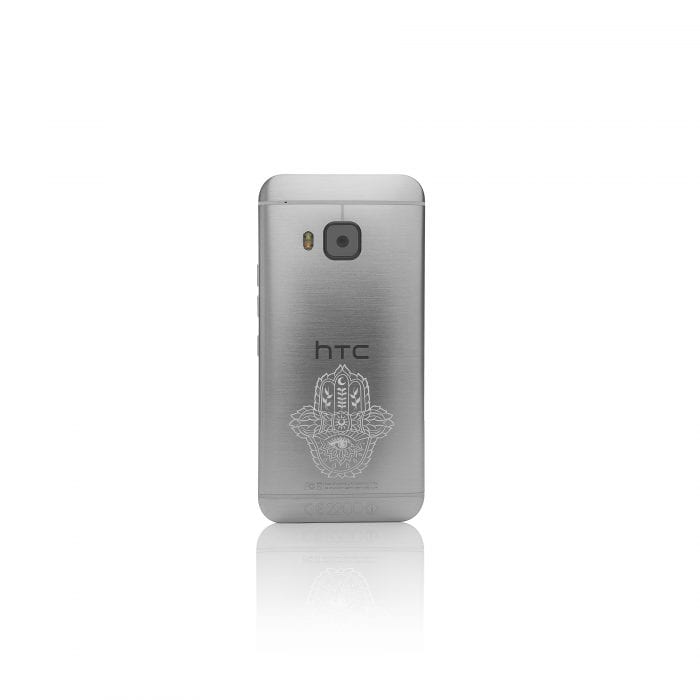 HTC Silver M9 back