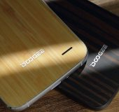 DOOGEE F3 Pro   Not much money, and its made with wood and bamboo!