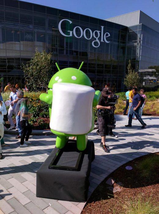 Android Marshmallow man