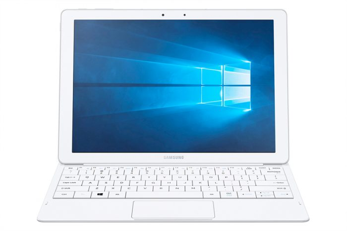 Galaxy TabPro S 005 Front3 White