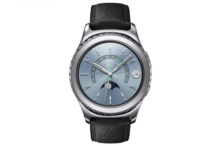 PHOTO Samsung Gear S2 Classic Platinum Front