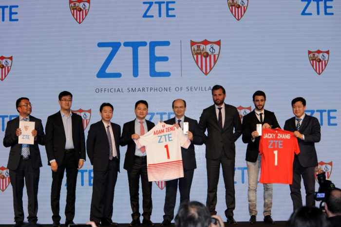 ZTE signs as official smartphone partner to Sevilla FC