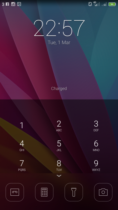 Honor5XLockscreen