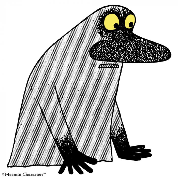 The Groke Moomijis