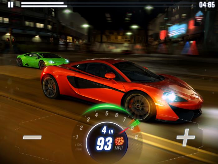 CSR2 McLarenP1 v Lamborghini