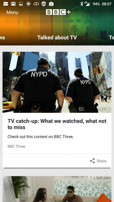 BBC+ app launches