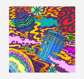 Bored? Like Doctor Who? Wanna be an artist?