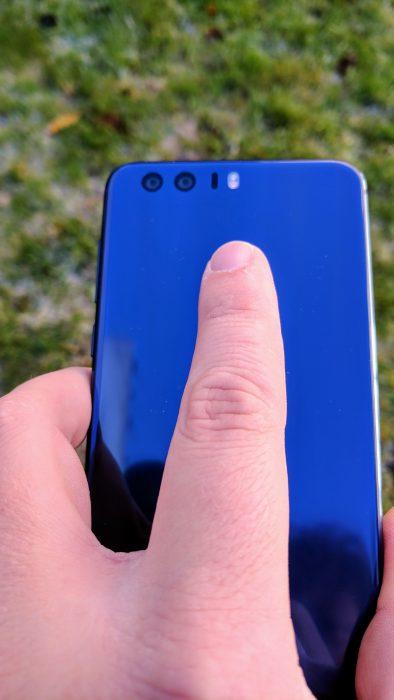honor 8 fingerprint