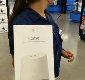 Google Home found at Walmart, what a tease...
