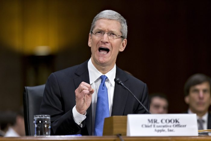 apple eu tax Tim cook