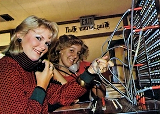 054 switchboard ladies
