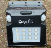 OxyLED SL07 Solar Sensor Light   Review