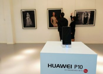 Huawei P10 Saatchi Gallery Leica