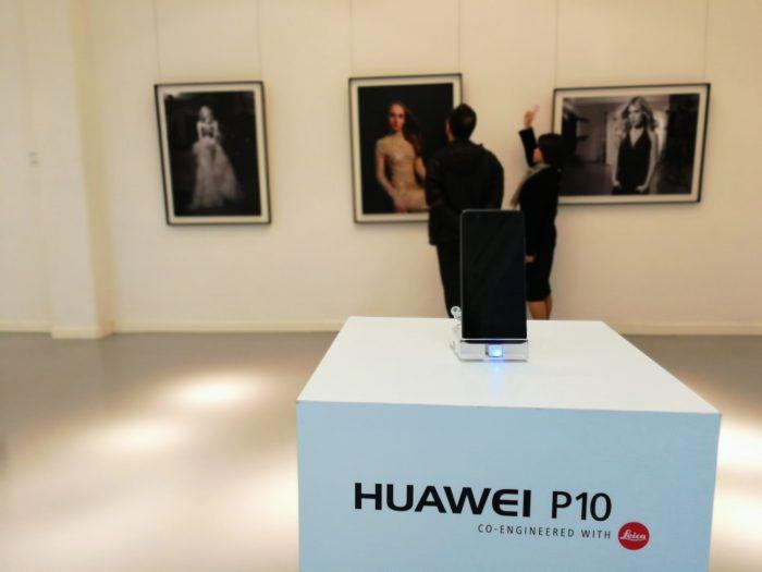 Huawei P10 Saatchi Gallery Leica
