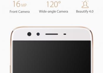 Oppo F3 Plus front cam