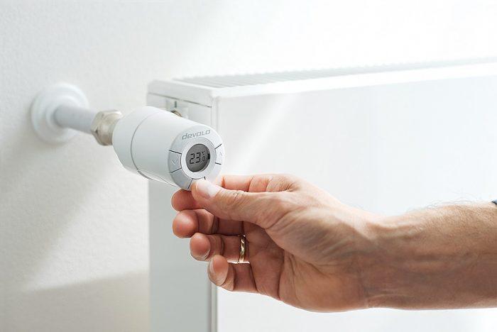 devolo Home Control Radiator Thermostat livingroom xl 3014