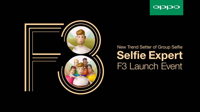 OPPO F3 Launch Event KV