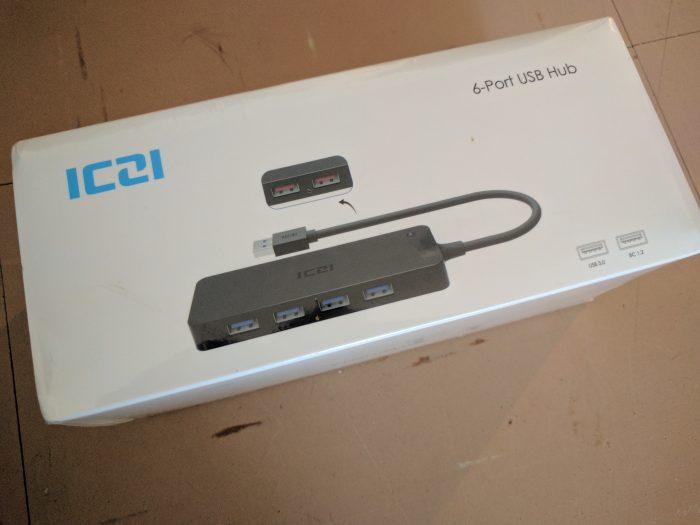ICZI 6 Port USB Hub   Review