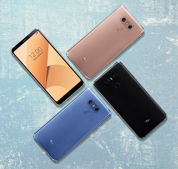 LG G6 Full Color Range