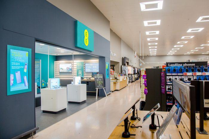 EE Sainsburys partnership