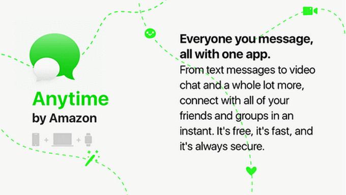 amazon anytime chat app