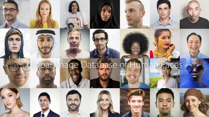 2. Global Image Database of Human faces