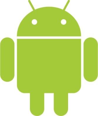 Big green Android logo