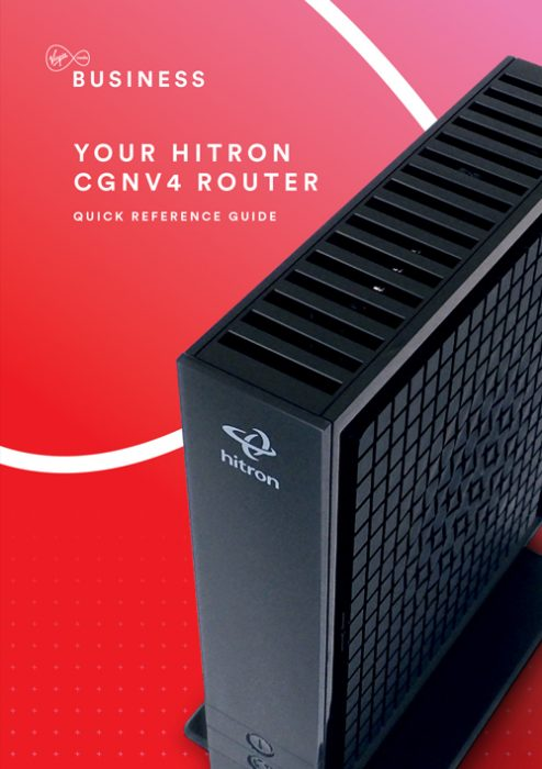 VirginMB Hitron User Guide 2015 cover