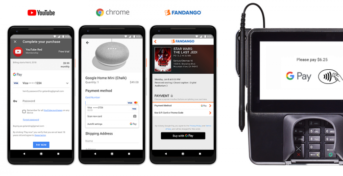 GooglePay Blog Youtube Chrome Apps Stores.max 1000x1000
