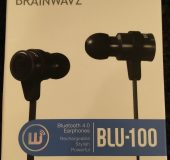 BLU 100 Bluetooth Earbuds   Review