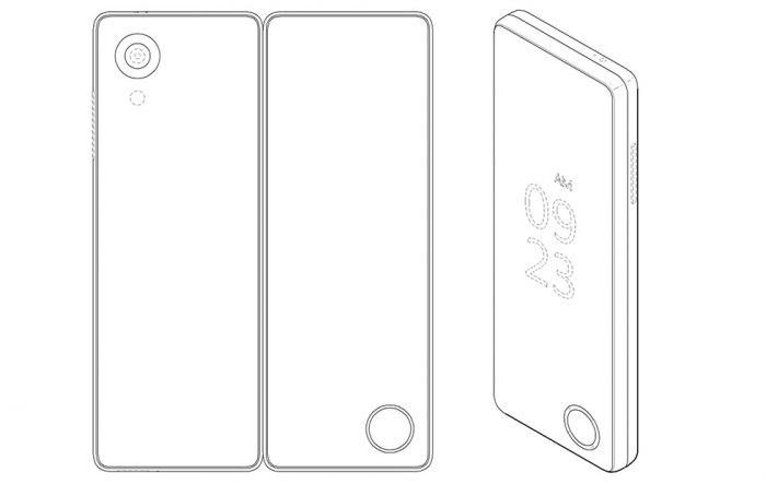 LG Folding Phone Patent Design