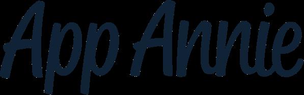 app annie logo blue transparent