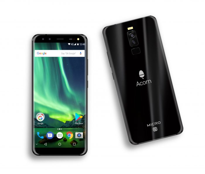 Acorn Micro Phone C5 Android Smartphone Front Tabletop