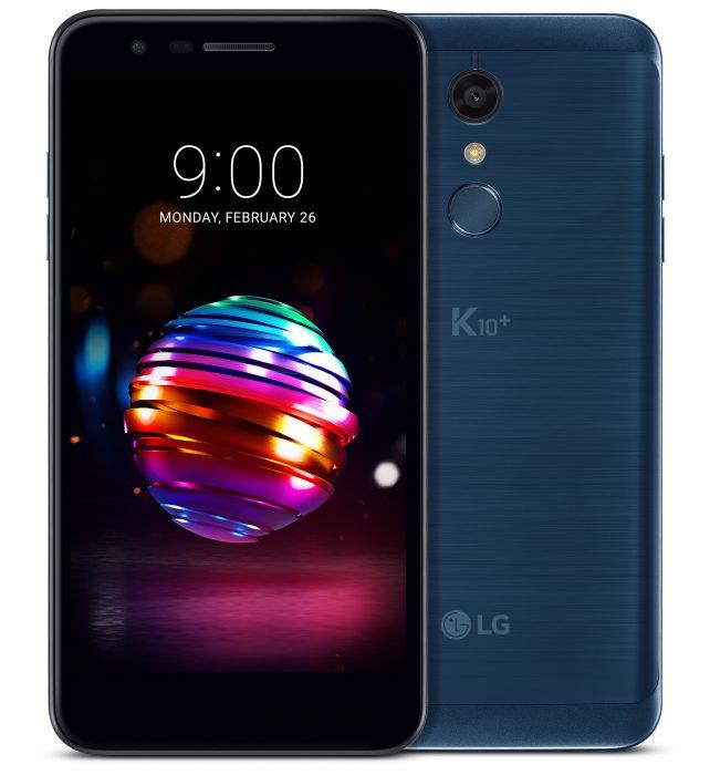 LG K10+ Moroccan Blue