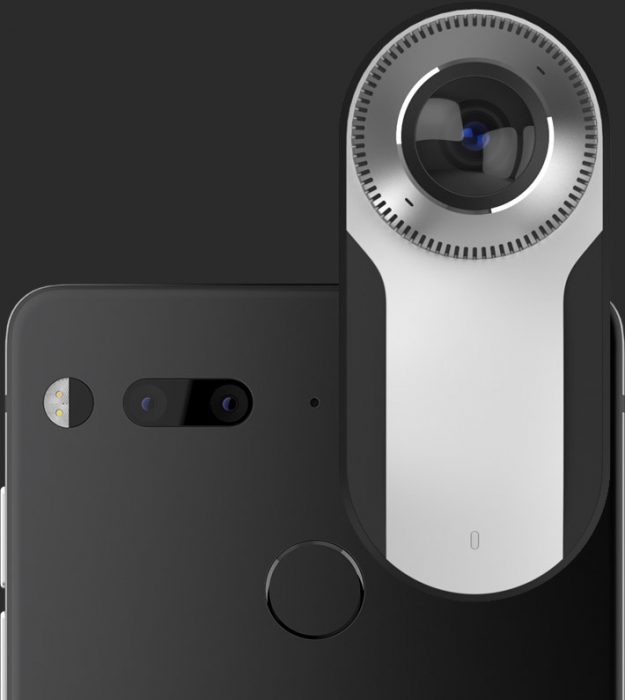mobile cam mounted