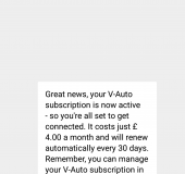 V Auto by Vodafone   Review